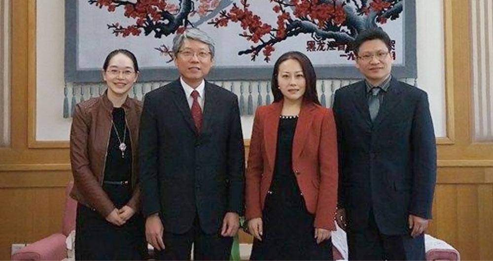 新加坡法律学会、律师公会一行拜访中国法律咨询中心