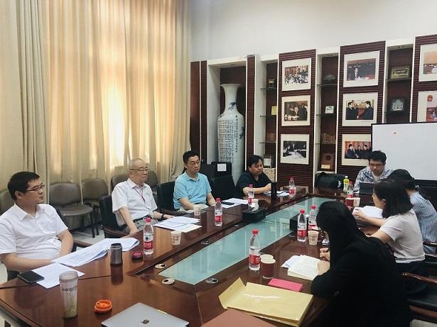 咨询中心到中国人民大学法治评估研究中心调研